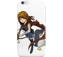 Penguin Girl iPhone Case/Skin