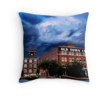 In Oldtown Throw Pillow