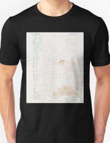 USGS Topo Map Oregon Jackass Butte NE 280311 1967 24000 Unisex T-Shirt