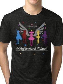 Madoka Magica - Neighbourhood Watch  Tri-blend T-Shirt