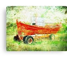 End of Story Canvas Print