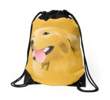 GOLDEN RETRIEVER Drawstring Bag