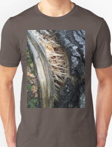 Tree Trunk Torn By the Storm Unisex T-Shirt