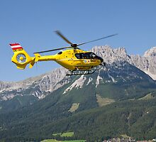 Rescue in the Alps by Nachtuil