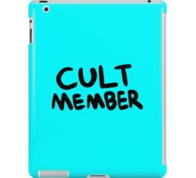 Cult Member iPad Case/Skin