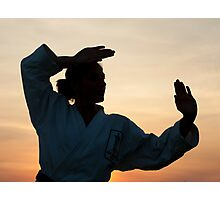 Karate Kid Photographic Print