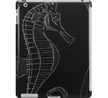 Dark (Sea) Horse iPad Case/Skin