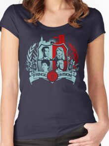 Fringe Division Crest  Women's Fitted Scoop T-Shirt