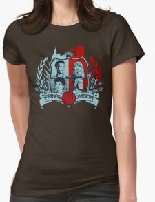 Fringe Division Crest  Womens Fitted T-Shirt