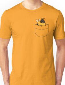 dunble bee shirt pocket design Unisex T-Shirt