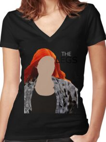 The Legs- Amy Pond- Shirt Women's Fitted V-Neck T-Shirt
