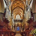 Salisbury Cathedral, Wiltshire, UK by Clive