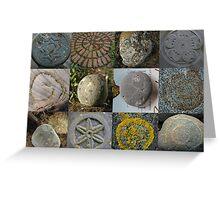 12 Stone Circles Greeting Card