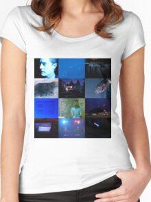 Twin Peaks in Blue Women's Fitted Scoop T-Shirt
