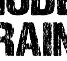 Funny Model Train Shirt Sticker