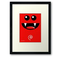 SMILE 2 Framed Print