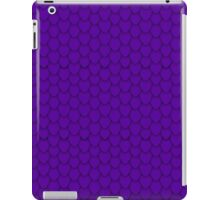 Deep Purple Dragon Scales iPad Case/Skin