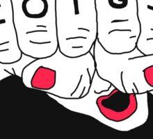Riot Girl Sticker