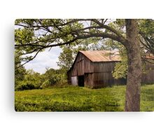 Another Spring ~ the Old Barn Still Stands Metal Print