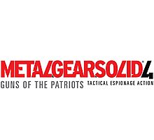 Metal Gear Solid 4 Mug Photographic Print
