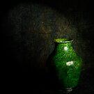Green grunge by Jan Clarke