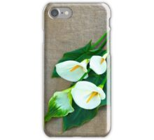 Calla Lilies... iPhone Case/Skin