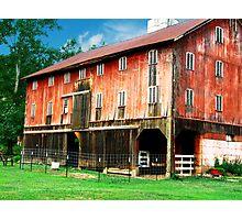 Beautiful Red Barn  Photographic Print