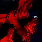 """Stellar Ego Red by David """"Oz""""  Osterczy"""