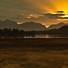 Loch Leven Sunset by Brian Kerr