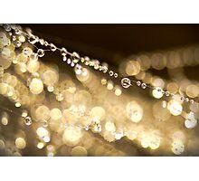 Golden Disco Photographic Print
