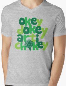 Okey Dokey Artichokey Mens V-Neck T-Shirt