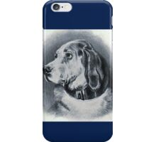 BLUE BLOODHOUND iPhone Case/Skin