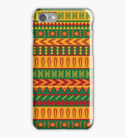 mexican pattern iPhone Case/Skin