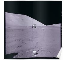 Apollo Archive 0167 Moon Lander on Lunar Surface Poster