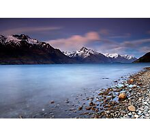 Queenstown Blues Photographic Print