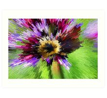 Bumble B Implosion Art Print