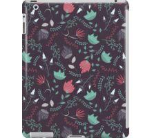 Fantasy flowers pattern iPad Case/Skin