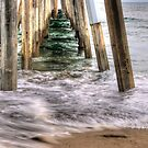 Hermosa Beach Pier HDR by Eddie Yerkish