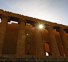 Temple of Concordia, Valley of the Temples, Agrigento, Sicily by Andrew Jones