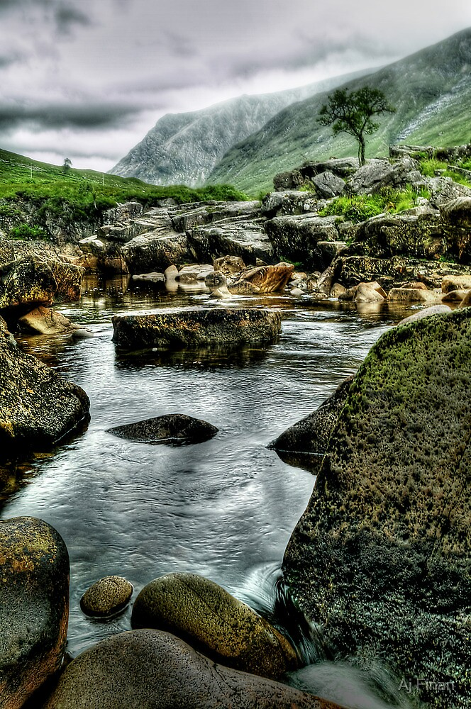 River Rocks by Aj Finan