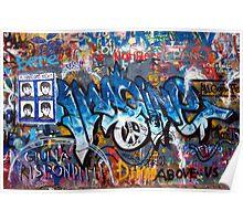 Lennonova Zed (Jonh Lennon's wall) Poster