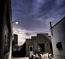 Devil in the Alley by NotStockPhoto
