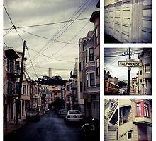 Valpariso Street by Barbara Wyeth