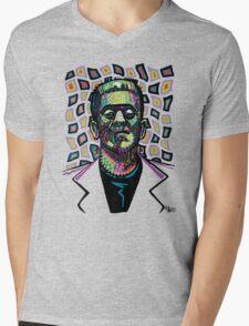 Frankenstein Funkenstein Mens V-Neck T-Shirt