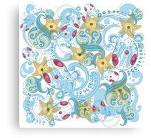 Ocean Pokemon Canvas Print