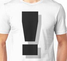 exclamation Unisex T-Shirt