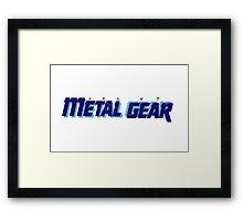 Metal Gear Mug Framed Print