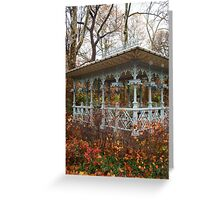 Fall in Central Park- New York City, New York Greeting Card
