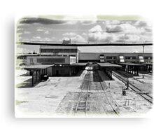 Toledo Train Station Canvas Print