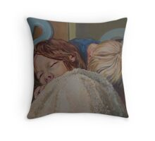 Il Pleut Throw Pillow